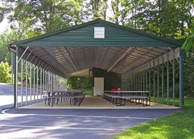 Vertical Roof Carports